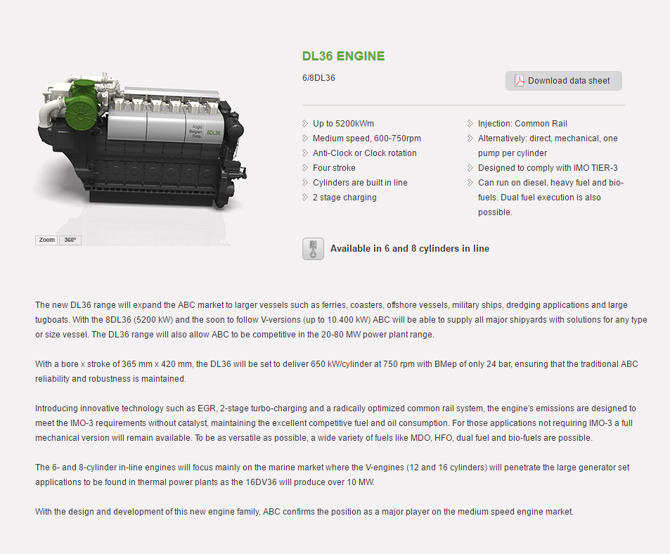 DL36 Series, click to download the data sheet